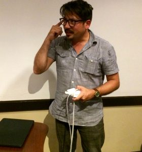 Ricardo Rivera, the creator of Nightscape, discusses the process that led to the installation.
