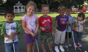 Students at the Tick Tock Early Learning Center are hoping area residents will support the center's annual golf fundraiser.