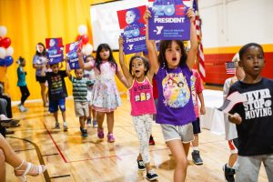 YMCA of Greater Brandywine launches 'Zoe for President' campaign.