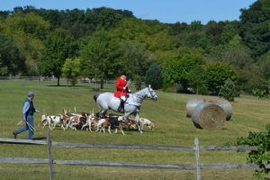 Members of the Radnor Hunt enthrall the crowd at the 10th Annual Pocopson Township Founders Day.