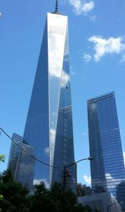 The Freedom Tower. (Photo courtesy of Gene Pisasale)