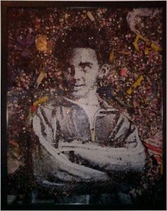 """Emerson"" part of the series Aftermath by Vik Muniz"