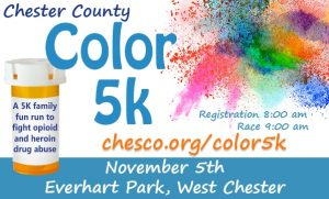 The first Color 5-K aims to combat heroin and opioid abuse.