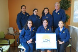LCH's team of health insurance navigators is ready to support the community with health insurance open enrollment, which begins Nov 1. Photo courtesy of La Comunidad Hispana
