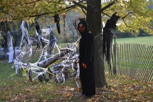 On the haunted trail at the Great Pumpkin Carve, it isn't always easy to discern who's human and who's not.