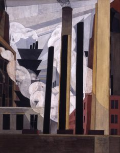 Charles Demuth's 1920 'End of the Parade' depicts Lukens Steel during its heyday in Coatesville,