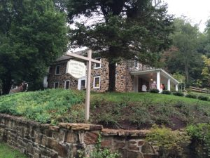 'Stone Wall,' a 1800s property owned by Larry and JoAnn Balcom, was built on the foundation of a log cabin that was part of a Penn Land Grant.
