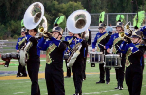 The Unionville High School marching band will perform in exhibition during 'March on the Brandywine.'