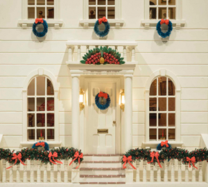 A large, exquisitely detailed dollhouse will anchor this year's 'Yuletide at Winterthur.'