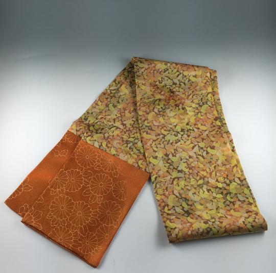 Vintage Kimono Hand Made Silk Scarf