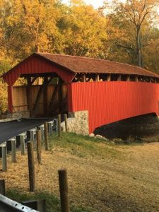 The Speakman Covered Bridge reopens in West Marlborough and East Fallowfield townships.
