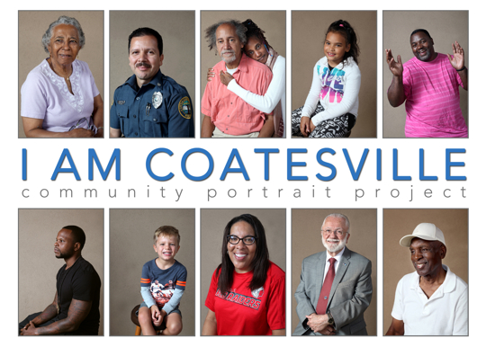 I am Coatesville Portrait Project. at Art Partners Studio