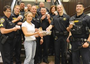 Cookies for a cause - Chester County Deputy Sheriffs 2
