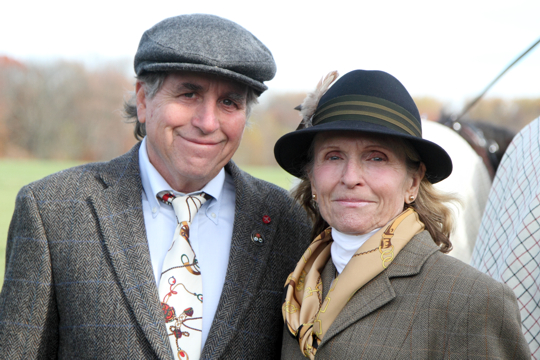 David Harshow and Lydia Willits Bartholomew
