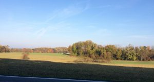 Commuters who travel on Route 926 experience this view of Crebilly Farm.
