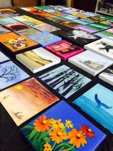 Petite Paintings Sale Oxford Arts Alliance