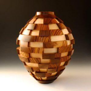 "3D Blocks by John Beaver at the ""Craft Forms exhibit at Wayne Art Center)"