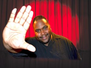 Comedian Larry XL is the scheduled headliner for shows on Dec. 9 and 10, as well as the New Year's Eve show.