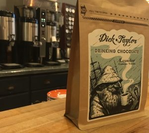 Dick Taylor chocolate at Philter Coffee