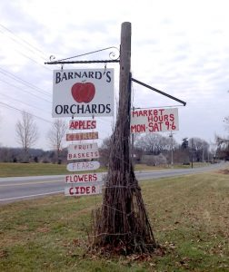 Barnard's Orchard is now preserved.