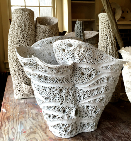 Coral forms by Jill Beech