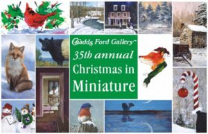 Christmas in Miniature at the Chadds Ford Gallery