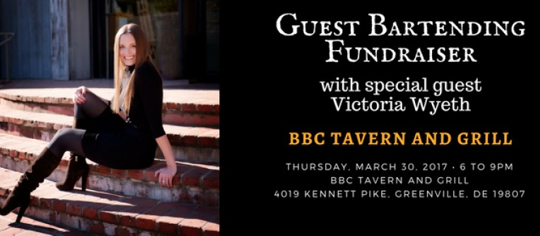 2017 CFHS Guest Bartending Event @ BBC Greenville @ BBC Tavern and Grill | Wilmington | Delaware | United States