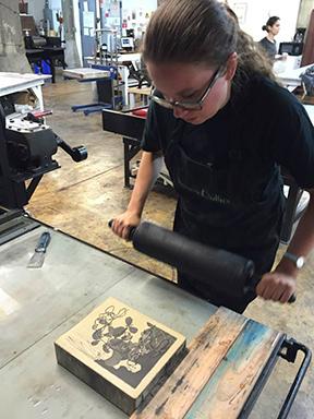 Heather McMordie at work