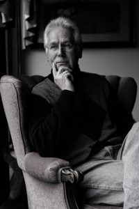 Portrait of artist Karl Kuerner by Lin Tan