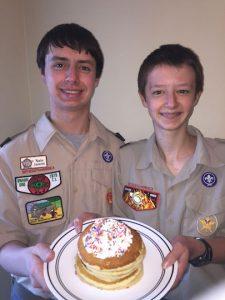 The Troop 260 pancake breakfast is Saturday, March 4