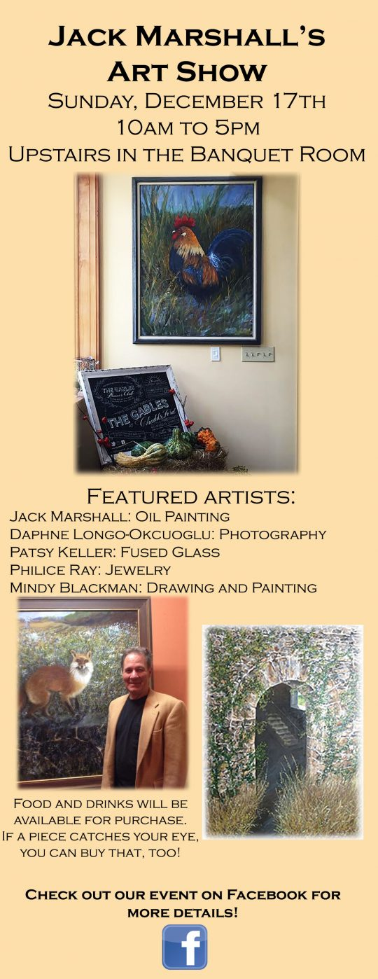 Jack Marshall's Art Show at the Gables