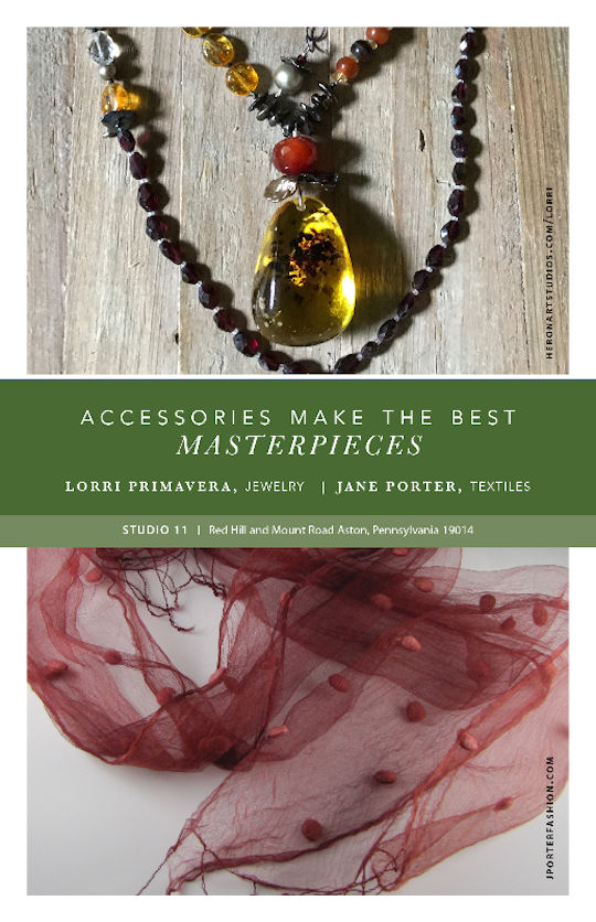 Jane Porter Textiles & Lori Primavera Open Studio