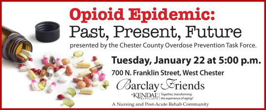Opioid Epidemic - Past, Present, Future