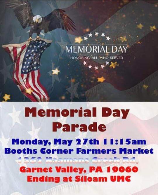 Booth Corner Memorial Day Parade