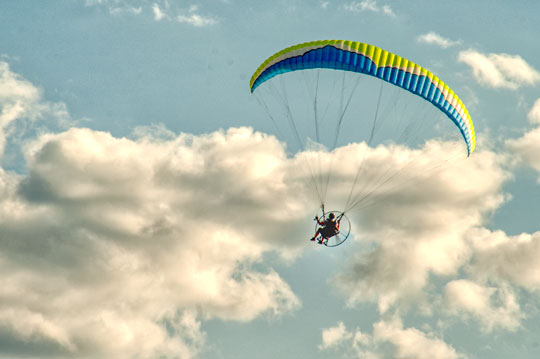 Photo of the Week: Paramotor - Chadds Ford Live | Chadds