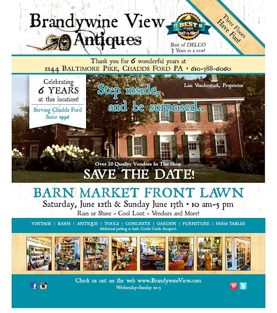Barn Market at Brandywine View Antiques