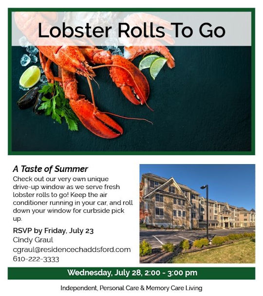 Lobster Rolls to Go